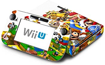 Super Mario 3D Land Decorative Decal Cover Skin for Nintendo Wii U Console and GamePad