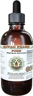 Poke Alcohol-FREE Liquid Extract, Organic Poke (Phytolacca americana) Dried Root Glycerite 2 oz
