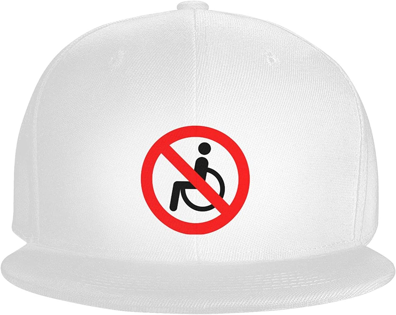 Bigfoot Sasquatch Peace Sign Silhouette Flat Brim Baseball Hat Cowboy Hat Sun Hat Unisex