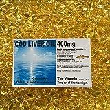 "The Vitamin COD LIVER OIL 400mg 1000 Capsules ""BUY IN BULK"" - 1 per day ""FREE POSTAGE"" (L) from The Vitamin"