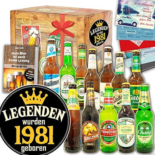 Legenden 1981 ++ Biergeschenk Welt und DE ++ Legenden 1981