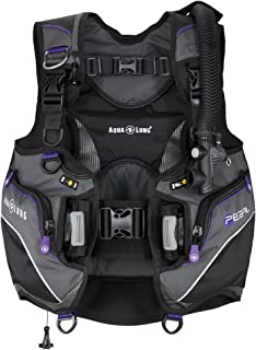 Aqualung Aqua Lung Pearl Scuba Bcd (women's) XS Black/Twilight