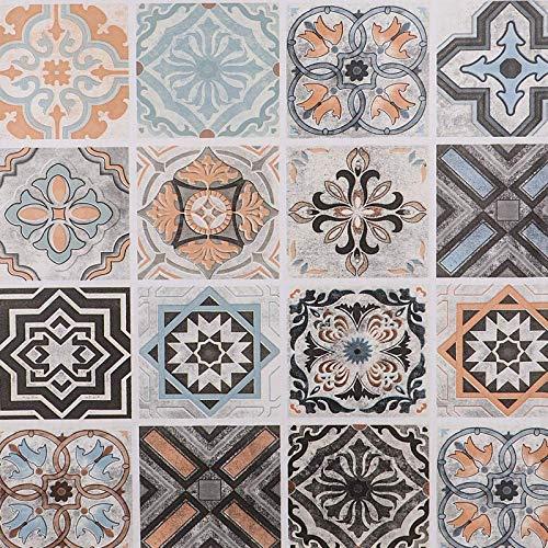 Hode Mosaikplattor klistermärke möbelklistermärke självhäftande tapet vinylfilm klibbig baksida plastrulle för vägg bord skåp vattentät 60 cm x 300 cm