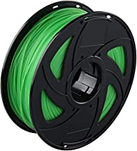 3D Printer Green PLA Filament, Dimensional Accuracy +/- 0.02 mm, 1 kg Spool 1.75 mm for Printing