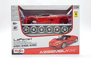 Maisto 1:24 Assembly Line LaFerrari Diecast Vehicle