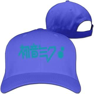 BODAP Hatsune Miku Logo Adjustable Baseball Hat