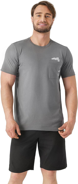 DAVID ARCHY Men's Soft Cotton Short Sleepwear Top & Bottom Loungewear Pajama Set