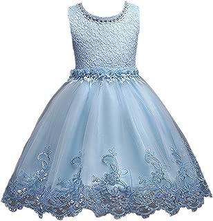 Horcute Sweet Lace Tulle Wedding Flower Girl Dress