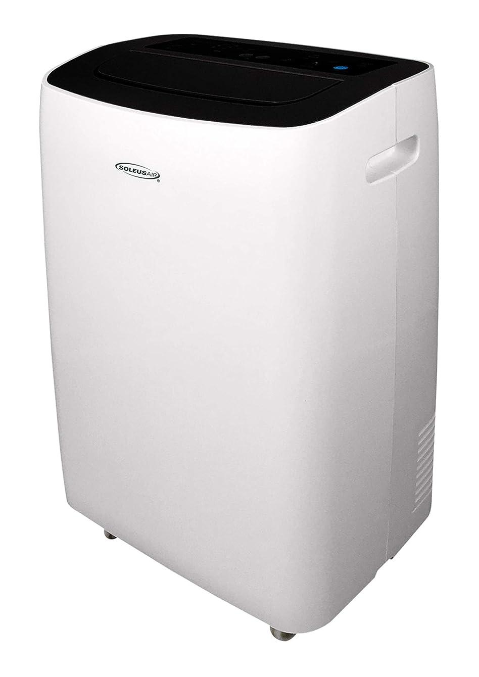 SoleusAir 10,000 BTU Portable Air Conditioner with MyTemp Remote Control, White