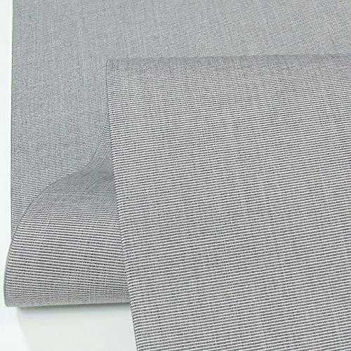 TOLKO Sonnenschutz Markisen-Stoffe als Meterware Zum Nähen mit UV-Schutz 50+   Wasserdicht, Extra Langlebig - Ohne Ausbleichen (Grau-Bicolor)