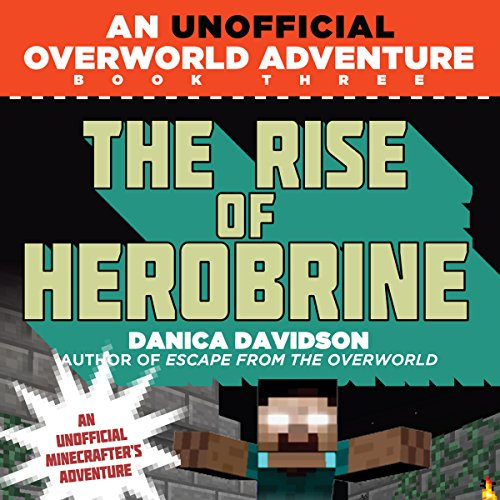 The Rise of Herobrine audiobook cover art