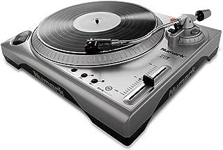 Numark TTUSB | 33 1/3 & 45 RPM Turntable with USB Audio Interface, 1/8