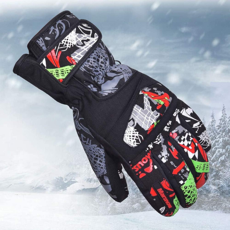 Kipeee Handschuhe Winter Outdoor Skifahren Reiten Radfahren Snowboarden Dicke Warme Silikon Druck männer Frauen Ski Schnee wasserdichte Handschuhe