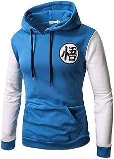HOSD New Anime Hoodies Z Pocket Sudaderas con Capucha Goku Hoodies Jerseys Hombres Mujeres Ropa de Abrigo de Manga Larga N...