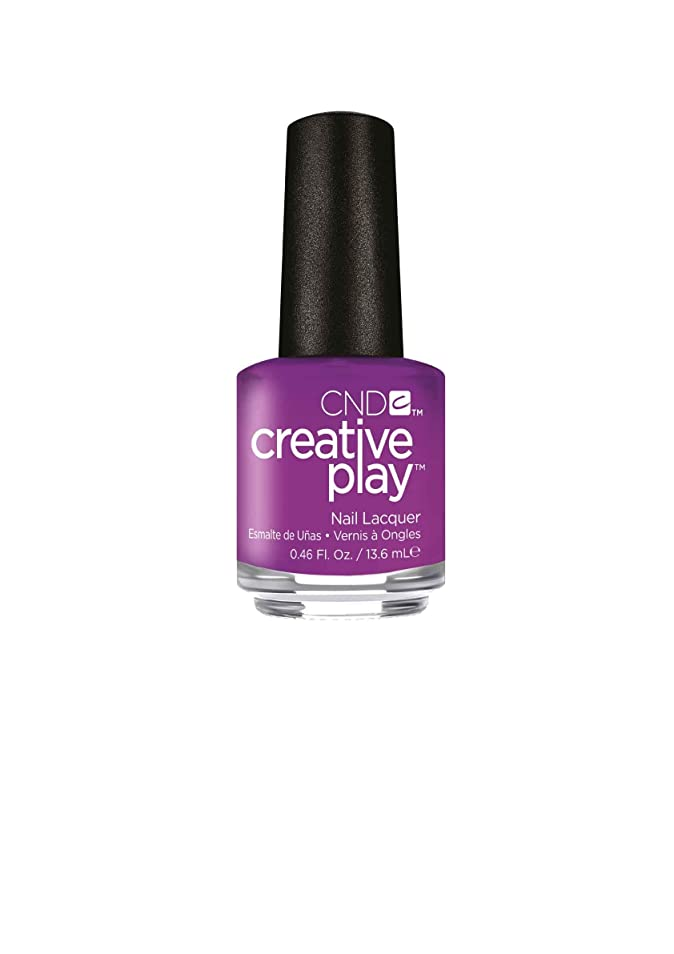 植生カヌー服を着るCND Creative Play Lacquer - Orchid You Not - 0.46oz / 13.6ml