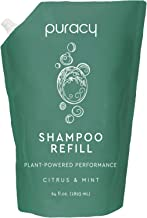 product image for Puracy Natural Daily Shampoo Refill, 64 Ounce, Reformulated for All Hair Types, Sulfate-Free, Non-Drying, ½ Gallon