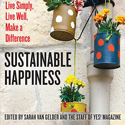 Sustainable Happiness audiobook cover art