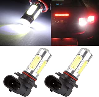 cciyu 9006 HB4 High Power White Epistar COB Chip Car LED Bulb Replacement fit for 2006 2007 2008 2009 2010 2011 2012 Acura RDX Fog Light, 2 Pack