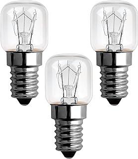 Ampoule Four 15w 300 Degres E14 Dimmable, Ampoule Incandescence E14 T22, Blanc Chaud 2300k, AC 220V-240V, 85LM, E14 Petit ...