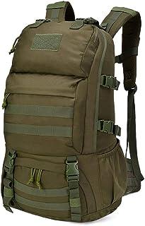40L Mochila Táctica Militar Mochilla Assault MOLLE Bolsa de Emergencia Mochilas de Senderismo para Trekking, Montañismo, Camping