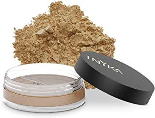 INIKA Loose Mineral Foundation Powder SPF25 All Natural Make-Up Base, Concealer, Flawless Coverage, Water Resistant, Hypoallergenic, Halal, 8g (0.28 oz) (Inspiration)