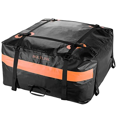 BOLTLINK Car Roof Top Cargo Carrier Bag, Made w...