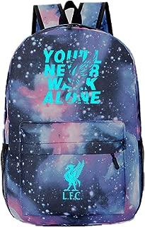 MEI-FBCL F.C Barcelona Juventus Real Madrid Liverpool Gym Bag Drawstring Bag Soccer Club Cinch Sack Sport Bag
