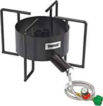 Bayou Classic SP40 22-Inch Double Jet Cooker with Hose Guard