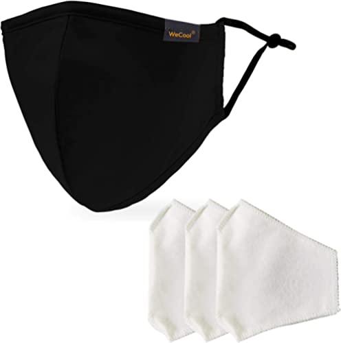 WeCool Belharra Face Mask Reusable Washable with Double Meltblown protection, Cloth Mask for Efficient filtration pro...