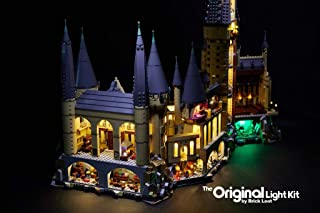 Brick Loot Deluxe LED Lighting Kit for Your Lego Harry Potter Hogwarts Castle 71043 - Lego Set NOT Included