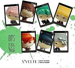 """Korean Kpop fandom gift: BTS Bangtan Boys in Blood Sweat & Tears from the chart-topping album, """"Wings"""". A fan art figure set by S'VELTE."""