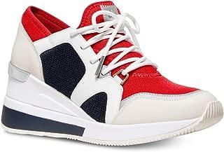 MK Women's Liv Trainer Extreme Mesh Sneakers Shoes Cream Multi