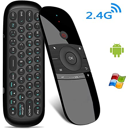 Amazon Com Air Mouse Remote Wireless Keyboard Multifunctional Remote Control For Android Tv Box Laptop Pc Computers Accessories