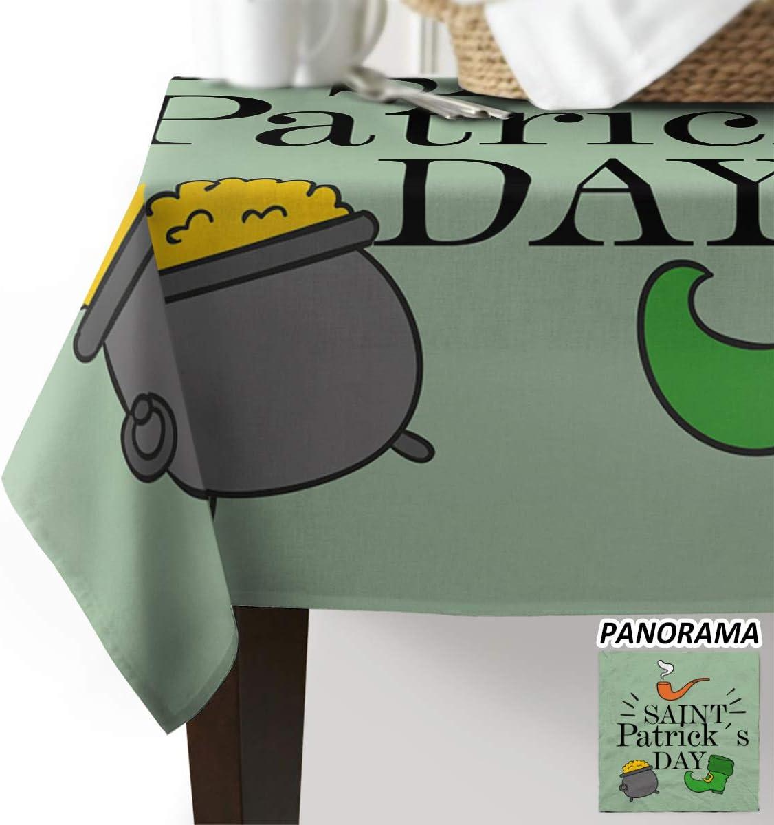 St. Patrick's Day Table Cloth スピード対応 全国送料無料 Rectangular 人気 Polyester Tablecloth 5