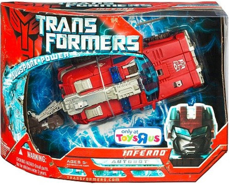 Hasbro 83750 Transformers Inferno Autobot Luxus Fahrzeug Roboter - 17cm