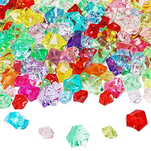 BELLE VOUS Cristales para Manualidades Acrílico (Pack de 300) Colores Variados -...