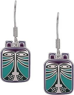 Laurel Burch Jewelry Toshio Teal Earrings
