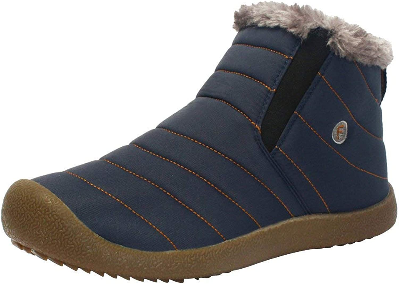 F1rst Rate Snow Waterproof Boots Lightweight Ankle Booties Outdoor Walking Sneaker