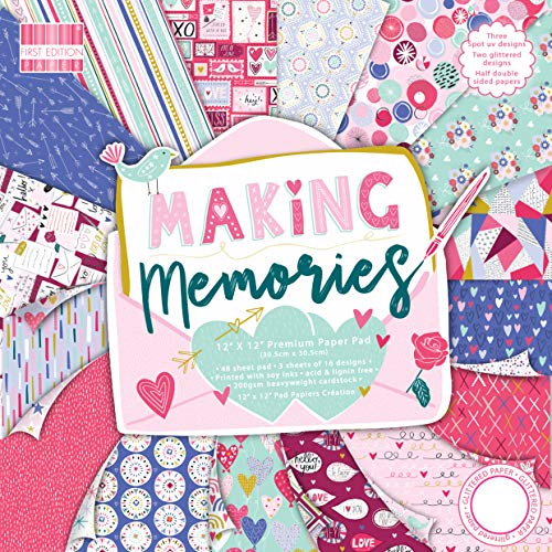 First Edition FSC 12x12 Paper Pad - Making Memories