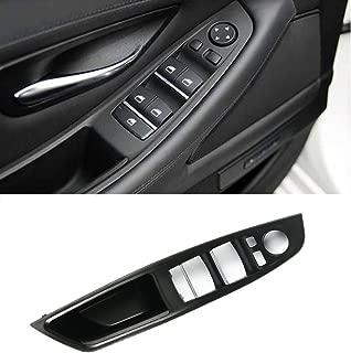 Jaronx Window Switch Armrest Panel, for BMW 5 Series Trim Grab Cover Armrest (Driver Side) Front Left Door Bracket (Fits:520 523 525 528 530 535 2010-2016)