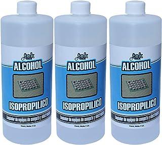 Alcohol Isopropilico Tekclean Puro 100% 1 Litro 3 unidades