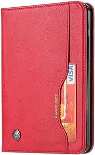Novo Kindle [10ª geração, apenas versão 2019] 15,2 cm, capa de couro retrô com estampa de cartão e-book