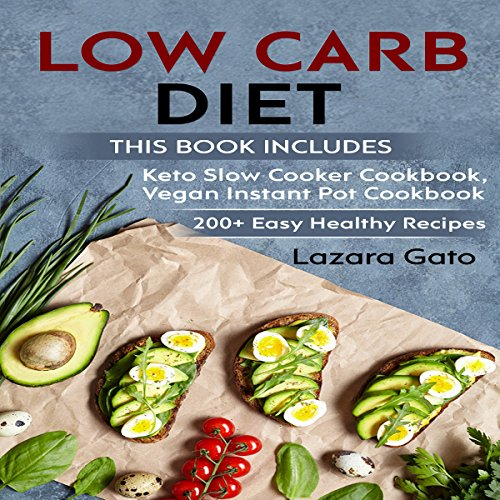 Low Carb Diet audiobook cover art
