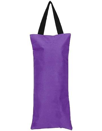 Keenso Sacchetto di Sabbia per Yoga da 2 Pezzi 41x18 cm Senza riempimento Accessorio per Braccio Sottile con Sacca di Sabbia a Peso Libero per Allenamento Fitness Yoga