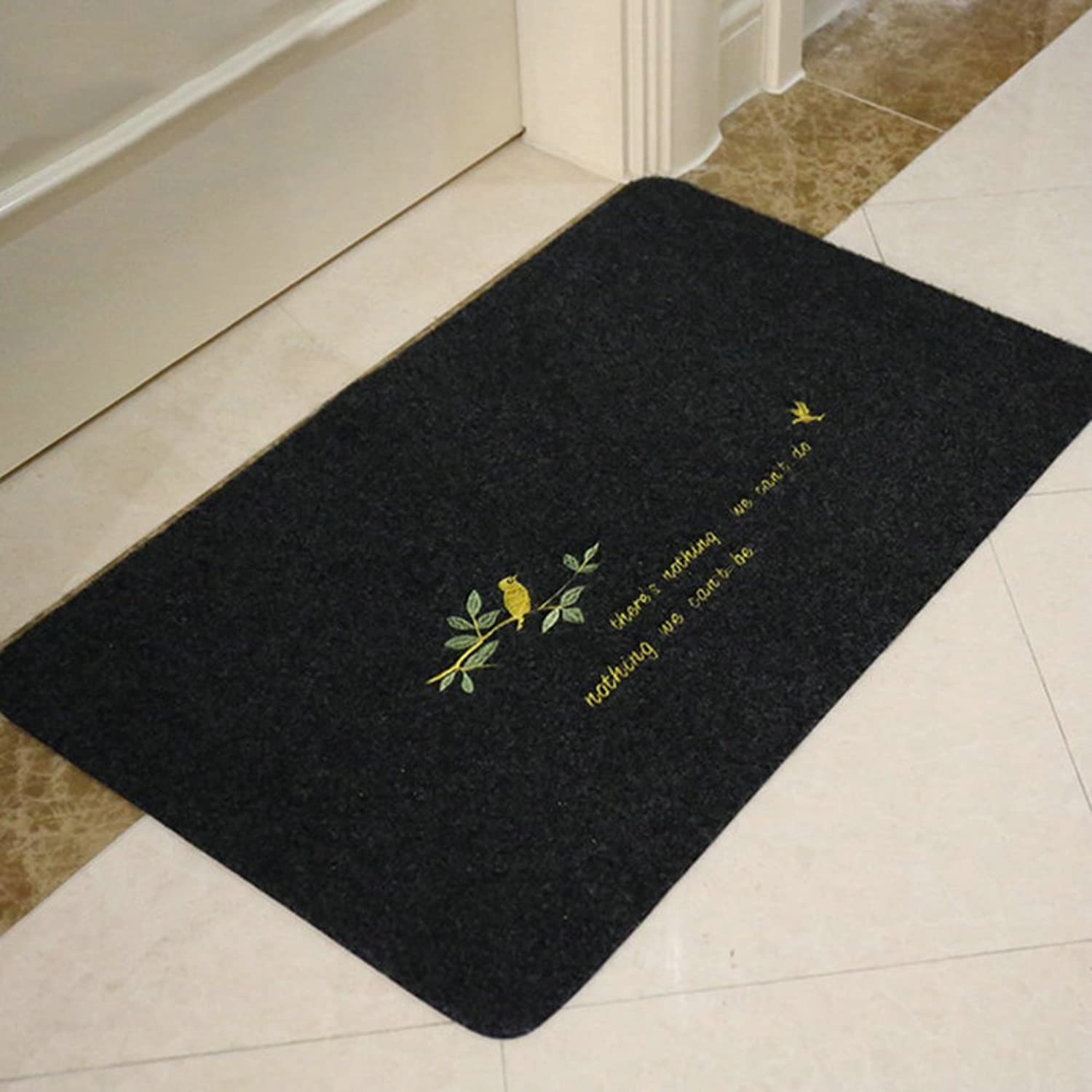 Embroidered,Rub Mud,Non-slip Mats Bathroom Mats Entrance,Doormats Doormat Mats In The Hall-C 80x120cm(31x47inch)