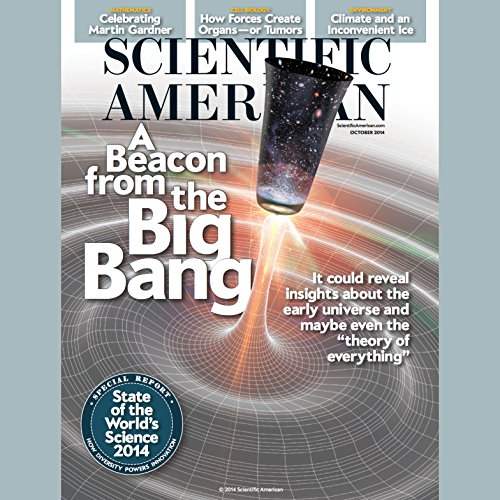 Scientific American, October 2014 audiobook cover art