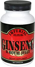 Imperial Elixir Ginseng and Royal Jelly, 100 Capsules (Pack of 2)