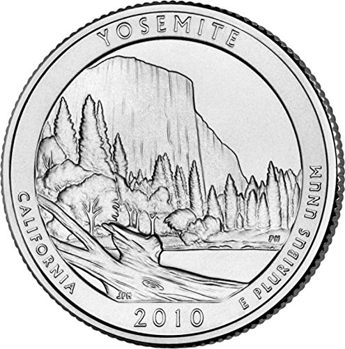 2010 P Yosemite National Park – P 40 Coin Bankroll Uncirculated