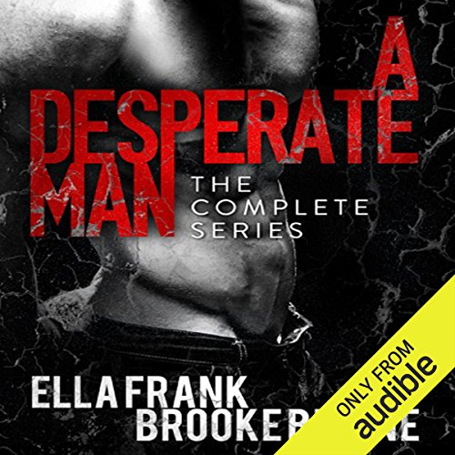 A Desperate Man audiobook cover art
