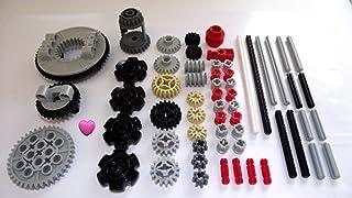LEGO® TECHNIC 60 piezas de engranajes, ejes